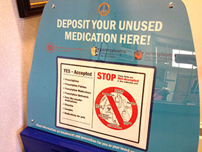 Prescription Drug Drop-Off Box